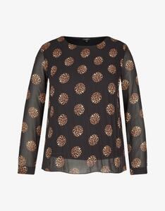 Bexleys woman - Plissee-Bluse aus Chiffon