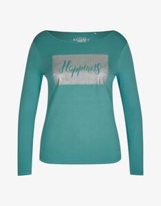 Bexleys woman - Langarmshirt mit Glitzerdruck