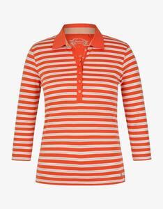 Bexleys woman - gestreiftes Poloshirt mit 3/4 Arm