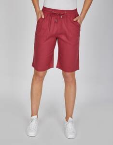 Bexleys woman - Bermuda-Shorts aus Leinenmischung