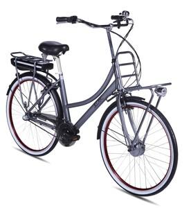 LLobe City E-Bike Rosendaal 2 Lady grau 15,6AH