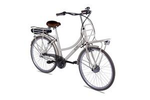 LLobe City E-Bike Rosendaal 2 Lady beige 13,2 Ah