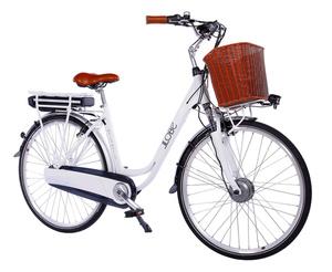 """LLobe City-E-Bike 28"""" White Motion 2.0 36V / 13Ah"""