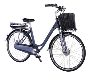 "LLobe City-E-Bike 28"" Black Motion 2.0 36V / 10,4Ah"