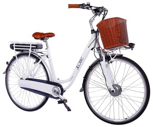 "LLobe City-E-Bike 28"" White Motion 2.0 36V / 10,4Ah"