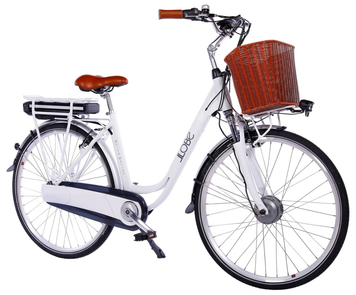 "Bild 1 von LLobe City-E-Bike 28"" White Motion 2.0 36V / 10,4Ah"
