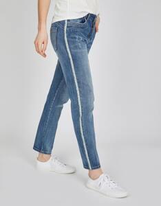 MY OWN - Jeans mit Galonstreifen