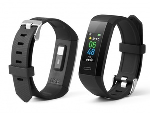 Technaxx Fitnesstracker mit Temperaturmessung TX-HR7
