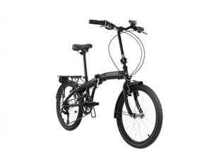 KS Cycling Faltrad 20'' Cityfold 6 Gänge schwarz