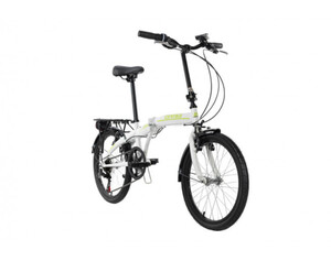 KS Cycling Faltrad 20'' Cityfold 6 Gänge weiß