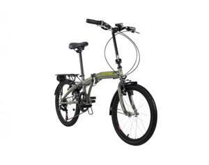 KS Cycling Faltrad 20'' Cityfold 6 Gänge grau