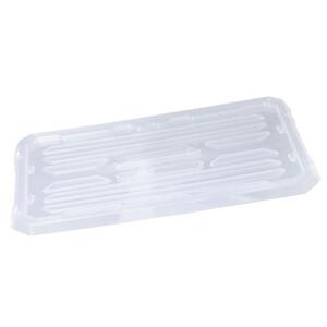 Deckel transparent für Stapelboxen, 30 x 20 x 2 cm