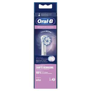 Oral-B Aufsteckbürsten Sensitive Clean Clean&Care