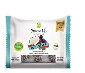 Yammbits Bio Fruit Balls coole Cocos-Aronia