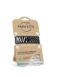 ParaKito Anti-Mücken Armband, Zebra