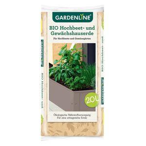 GARDENLINE®  Bio-Hochbeet- und Gewächshauserde