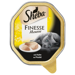Sheba Finesse Mousse mit Huhn 85g