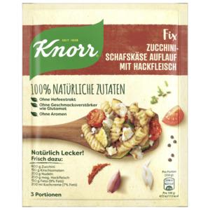 Knorr Fix Zucchini-Schafskäse Auflauf mit Hackfleisch 44g
