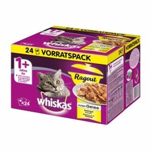 Whiskas Adult 1+ Ragout 24x85g Geflügelauswahl