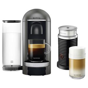 Krups Nespresso Vertuo Plus XN902T inkl. Aeroccino Milchaufschäumer schwarz