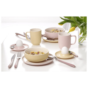 Ritzenhoff & Breker Brunchset Ostern rosa/vanille, Mehrfarbig