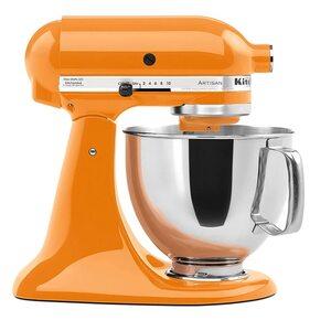 KitchenAid Artisan 4,8 Liter Küchenmaschine Modell KSM150 Tangerine, Orange