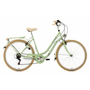 KS Cycling Damenfahrrad Cityrad 6-Gänge Casino 28 Zoll, Größe: 53, Grün