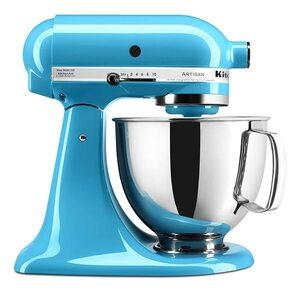 KitchenAid Artisan 4,8 Liter Küchenmaschine Modell KSM150 Cristallblau crytsal blue