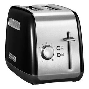 KitchenAid 5KMT2115EWH Classic Toaster onyx schwarz