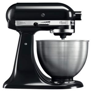 KitchenAid Classic Küchenmaschine 5K45SSEBM 4,3l schwarz matt