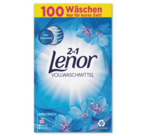 LENOR 2 in 1 Vollwaschmittel