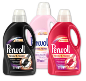 PERWOLL Fein- & Color-Waschmittel