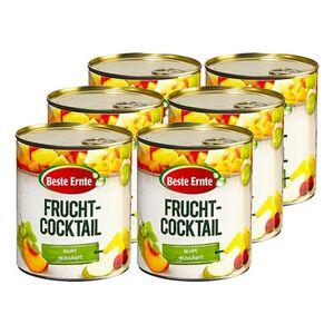 Beste Ernte Fruchtcocktail 500 g, 6er Pack