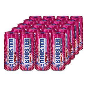 Booster Energy Drink Juicy 0,33 Liter Dose, 24er Pack