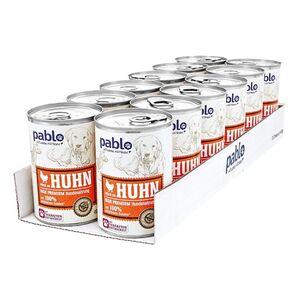 Pablo Hundenahrung Reich an Huhn 400 g, 12er Pack