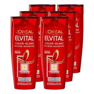 Elvital Shampoo Color 300 ml, 6er Pack