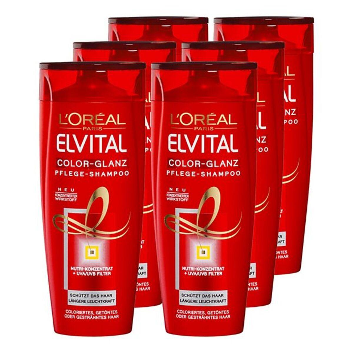 Bild 1 von Elvital Shampoo Color 300 ml, 6er Pack