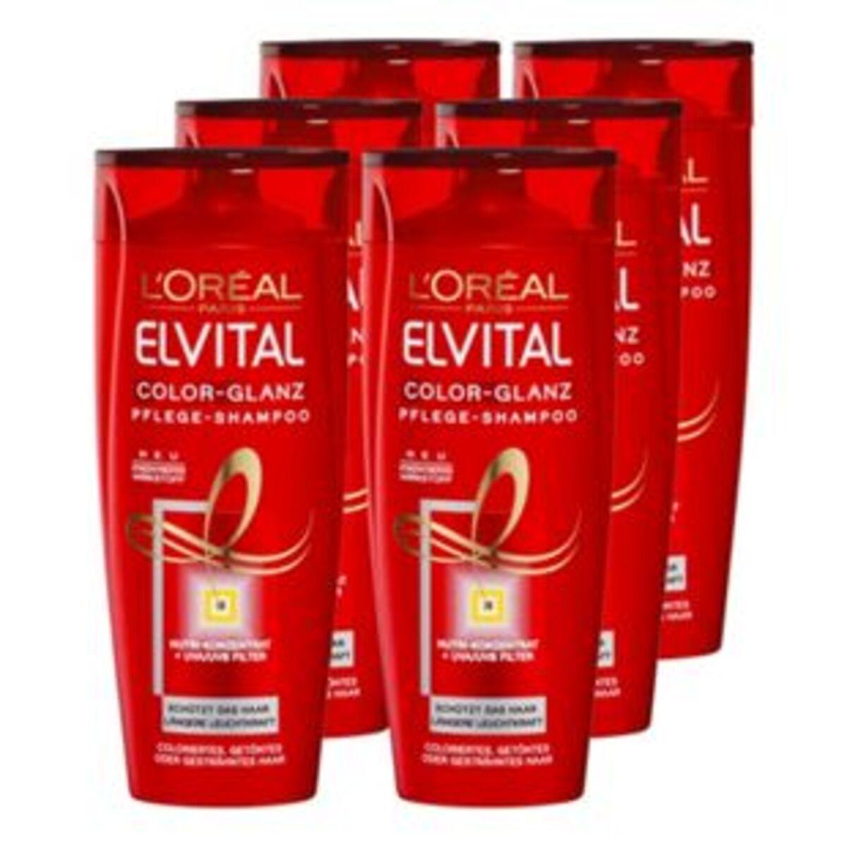 Bild 2 von Elvital Shampoo Color 300 ml, 6er Pack