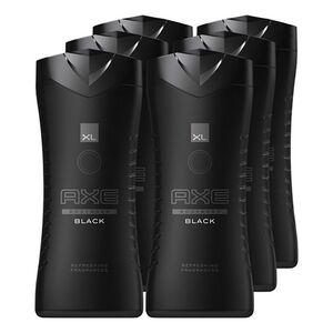 Axe Duschgel Black 400 ml, 6er Pack