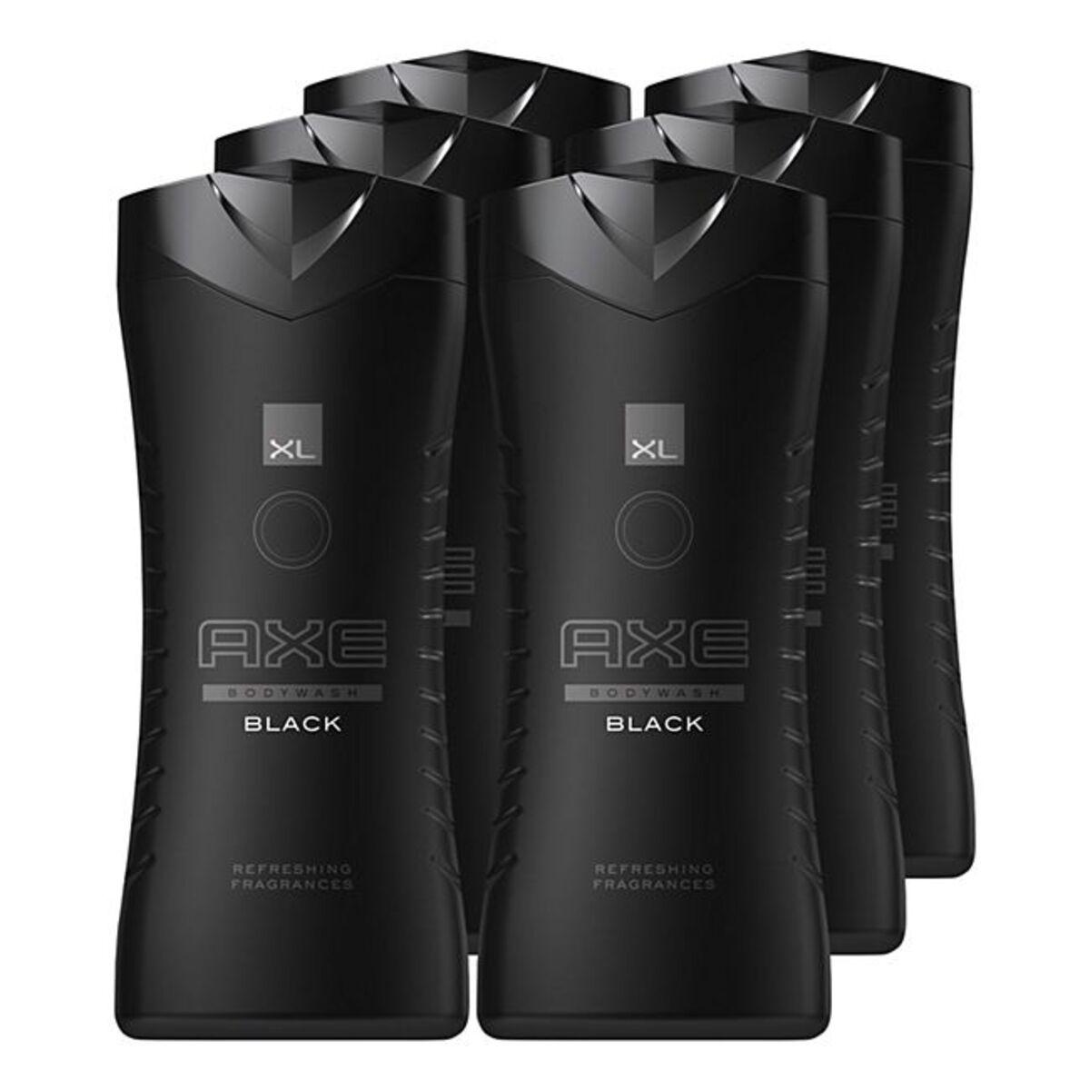 Bild 1 von Axe Duschgel Black 400 ml, 6er Pack