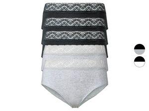ESMARA® Slips Damen, 5 Stück, mit hoher Taille