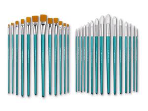 CRELANDO® Pinsel, für Öl- und Aquarellmalerei, aus Nylon