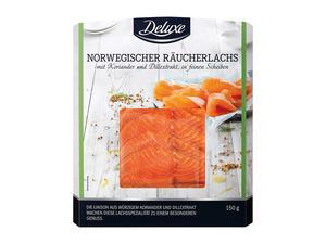 Deluxe Norwegischer Räucherlachs