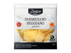 Deluxe Parmigiano Reggiano, gehobelt