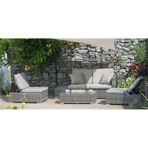 Garden Pleasure Loungegruppe Alcudia, multifunktional