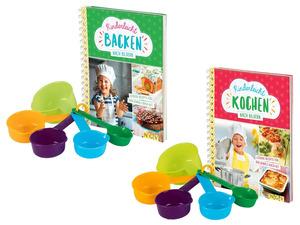 Kinder Back-/ Koch-Set, mit 5 Messbechern