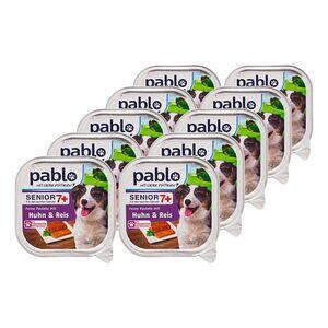 Pablo Pastete Senior mit Huhn 300 g, 10er Pack