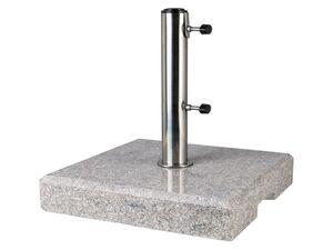 FLORABEST Schirmständer Granit, eckig