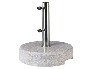 FLORABEST Schirmständer Granit, rund