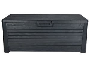 FLORABEST Gartenbox 550l, in Holz-Optik